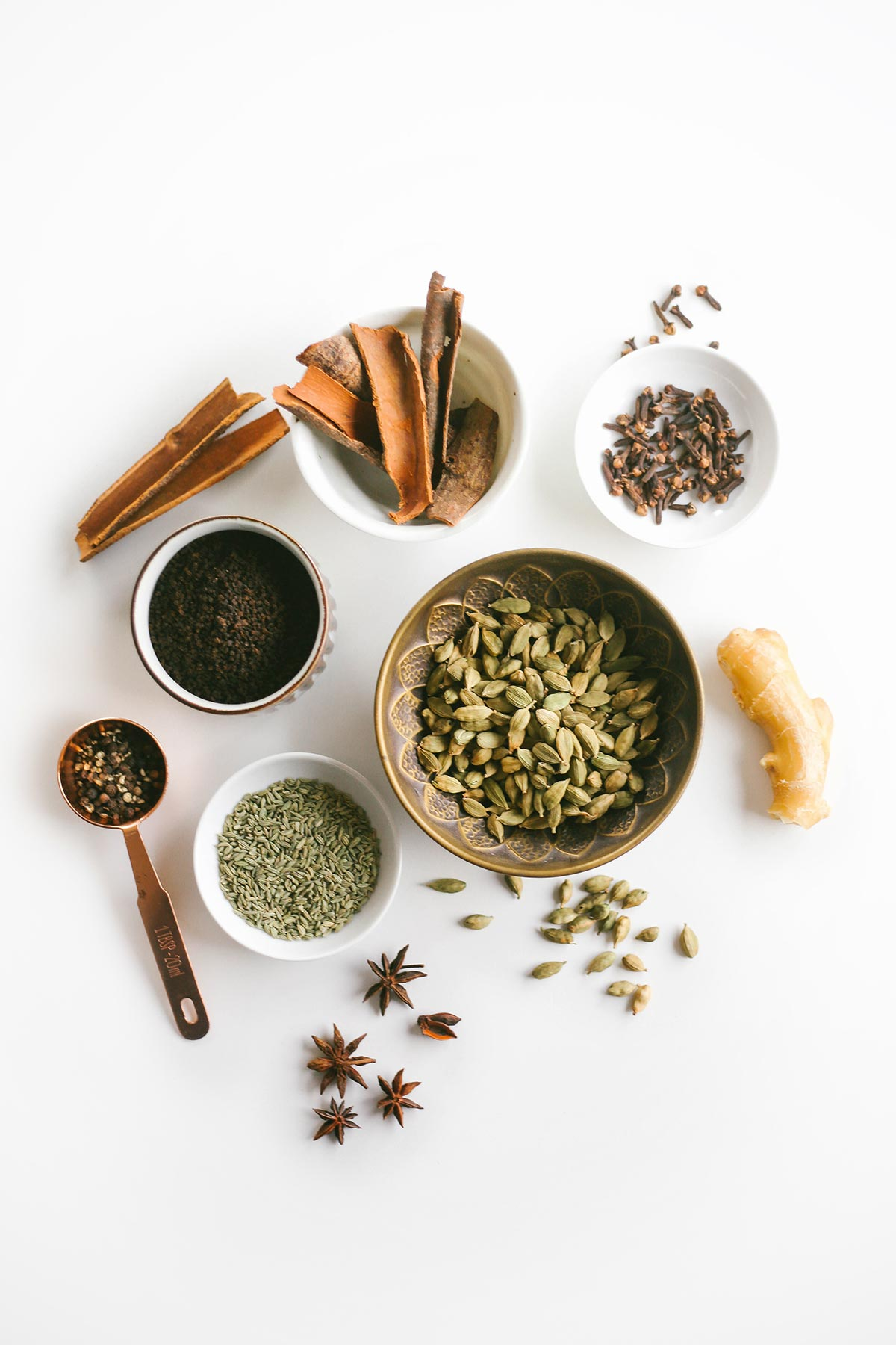 Masala chai tea for keto and low carb. Authentic Indian recipe with whole spices from scratch.