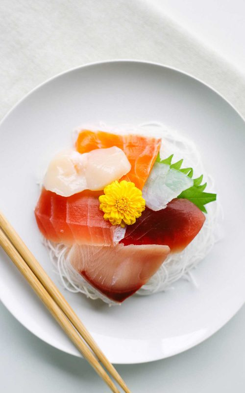 Sashimi on a Keto Diet in Japan