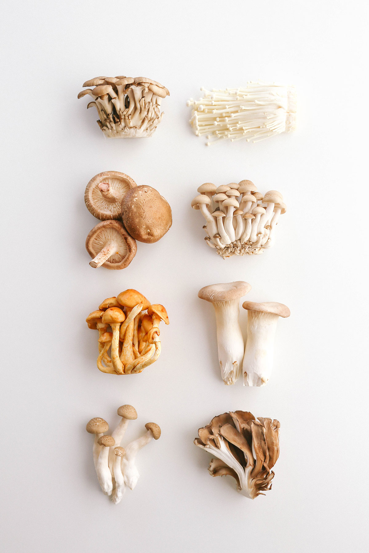 Japanese mushroom types and keto or low carb.