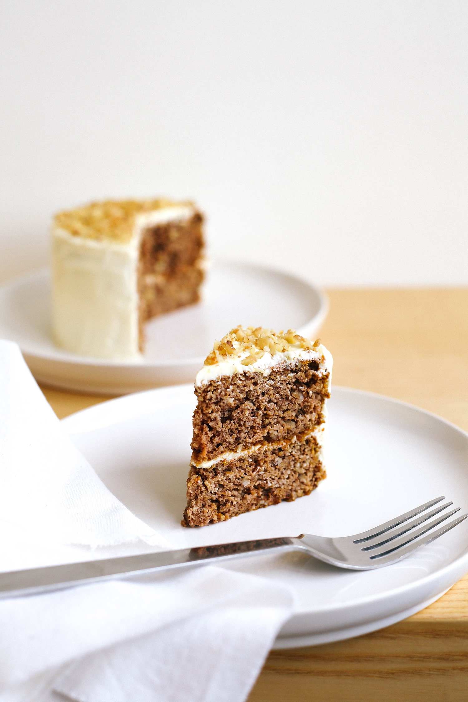 Keto Carrot Cake With Cream Cheese Frosting Low Carb Happy Keto
